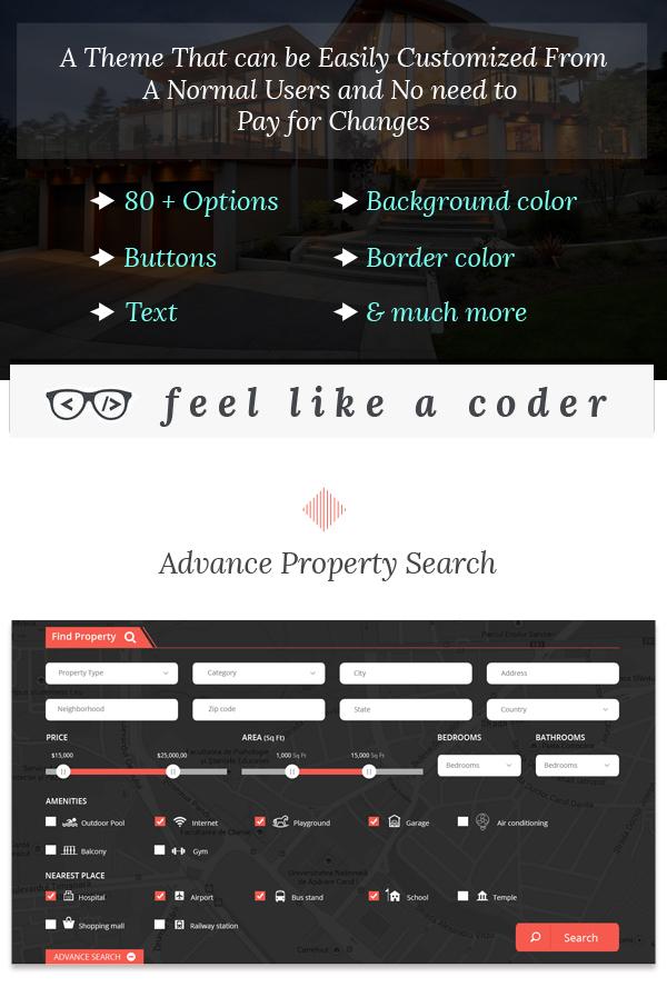 Real Estate Wordpress Theme - 1