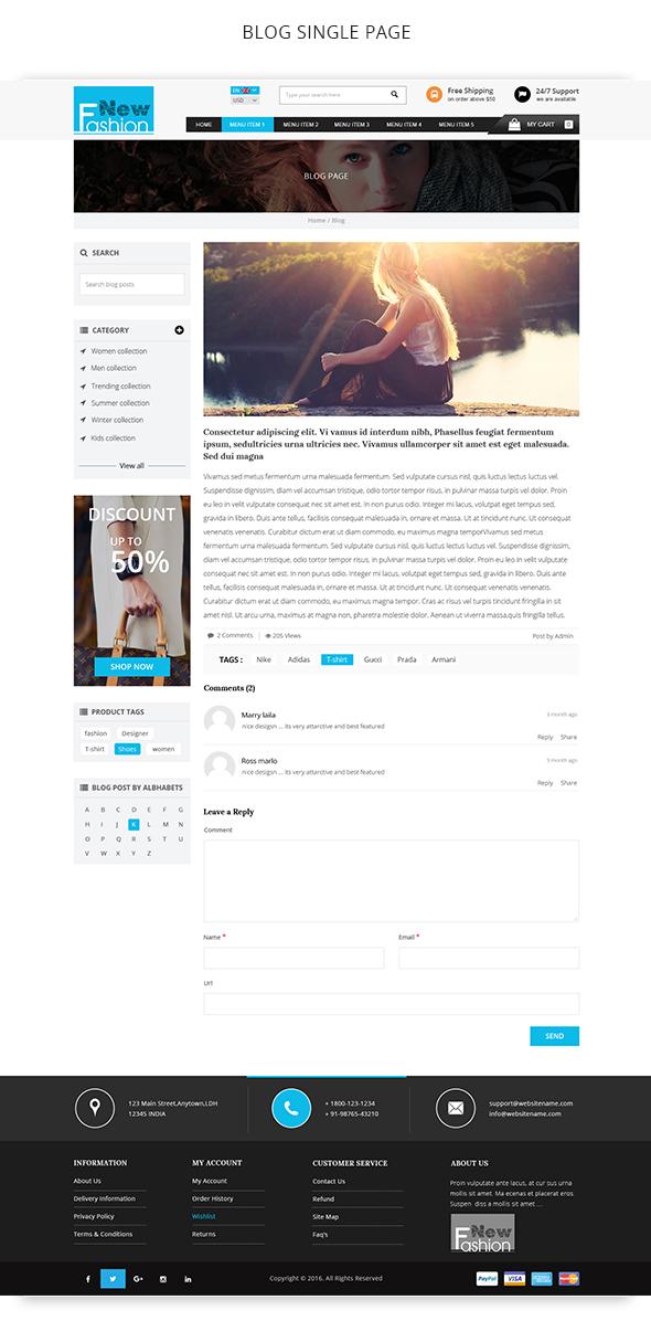 Fashion Multipurpose WooCommerce Theme - 10