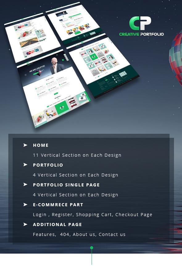 Creative Portfolio HTML Template - 1
