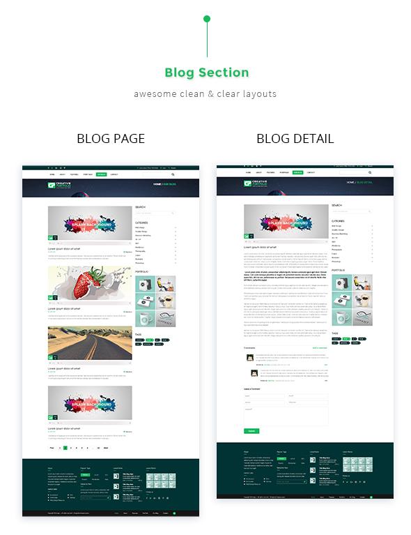Creative Portfolio HTML Template - 4