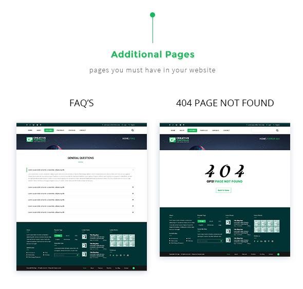 Creative Portfolio HTML Template - 6