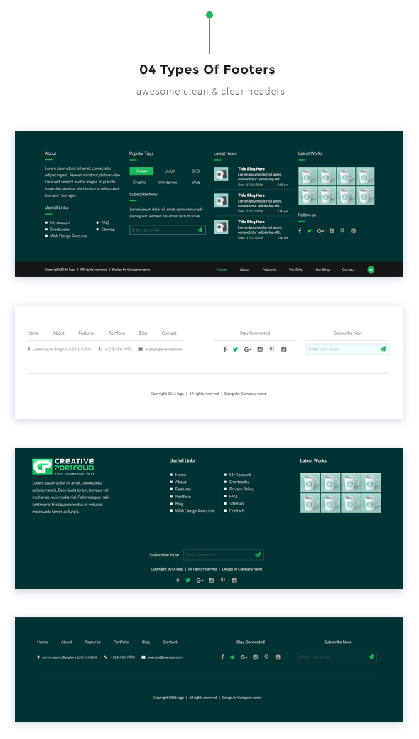 Creative Portfolio HTML Template - 8