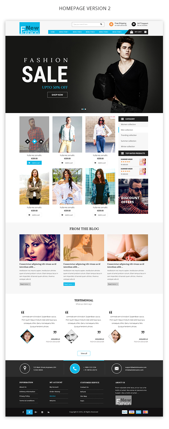 img4 Fashion Multipurpose WooCommerce Theme theme WordPress