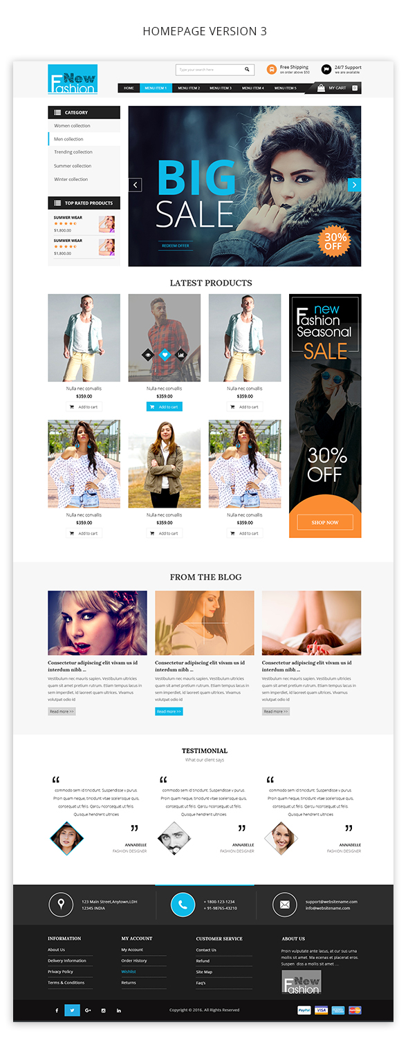 img5 Fashion Multipurpose WooCommerce Theme theme WordPress