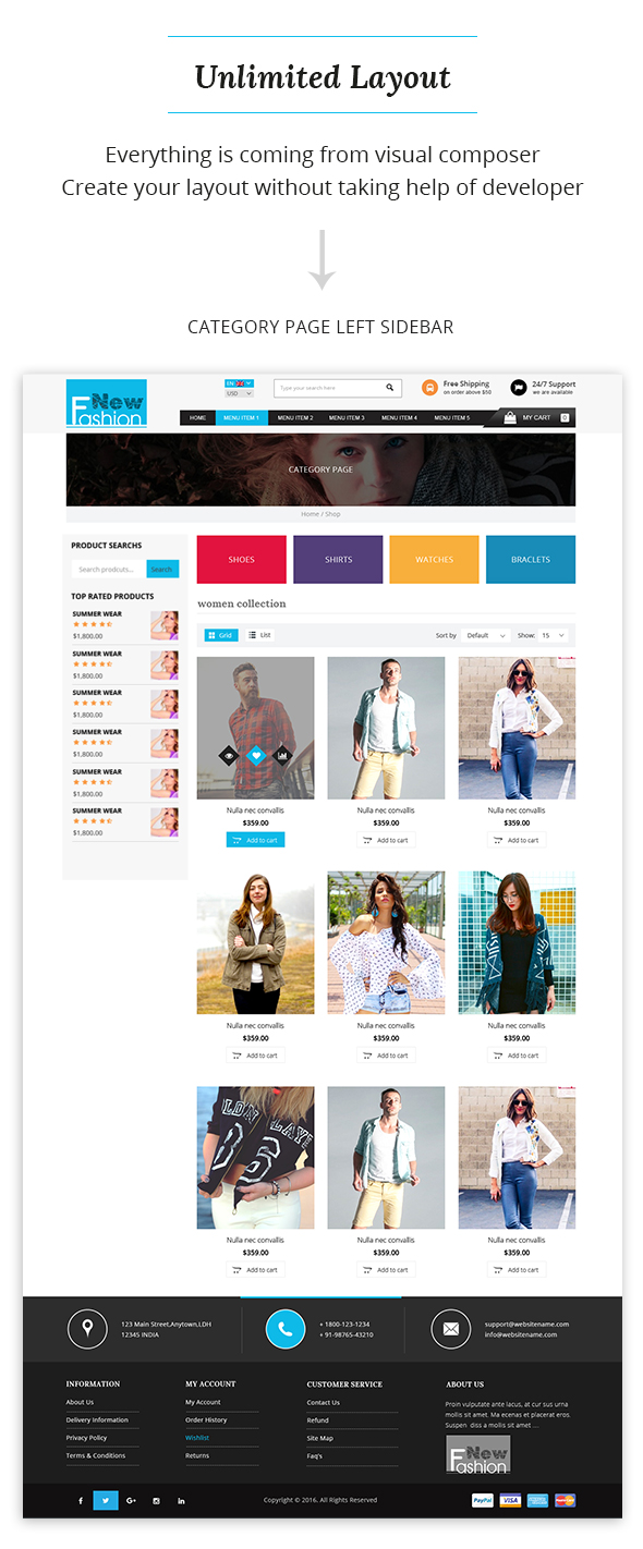 img8 Fashion Multipurpose WooCommerce Theme theme WordPress