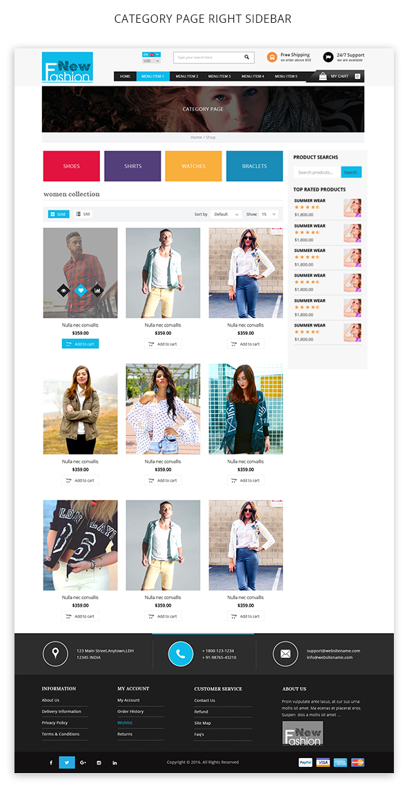 img9 Fashion Multipurpose WooCommerce Theme theme WordPress